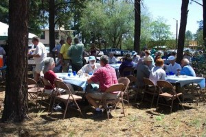 Picnic with Santa Fe Congregation